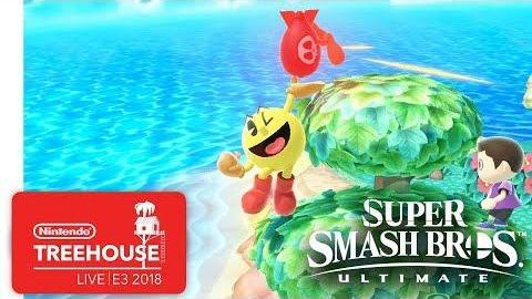 Super Smash Bros. Ultimate Gameplay Pt. 8 - Nintendo Treehouse: Live | E3 2018