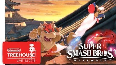 Super Smash Bros. Ultimate Gameplay Pt. 4 - Nintendo Treehouse: Live | E3 2018