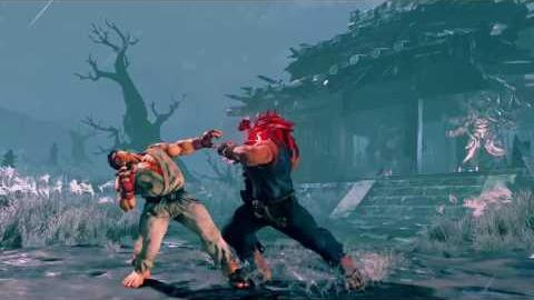 Street Fighter V - Gouki Reveal Trailer (Official)