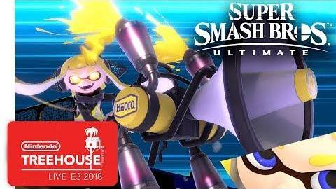 Super Smash Bros. Ultimate Gameplay Pt. 2 - Nintendo Treehouse: Live | E3 2018